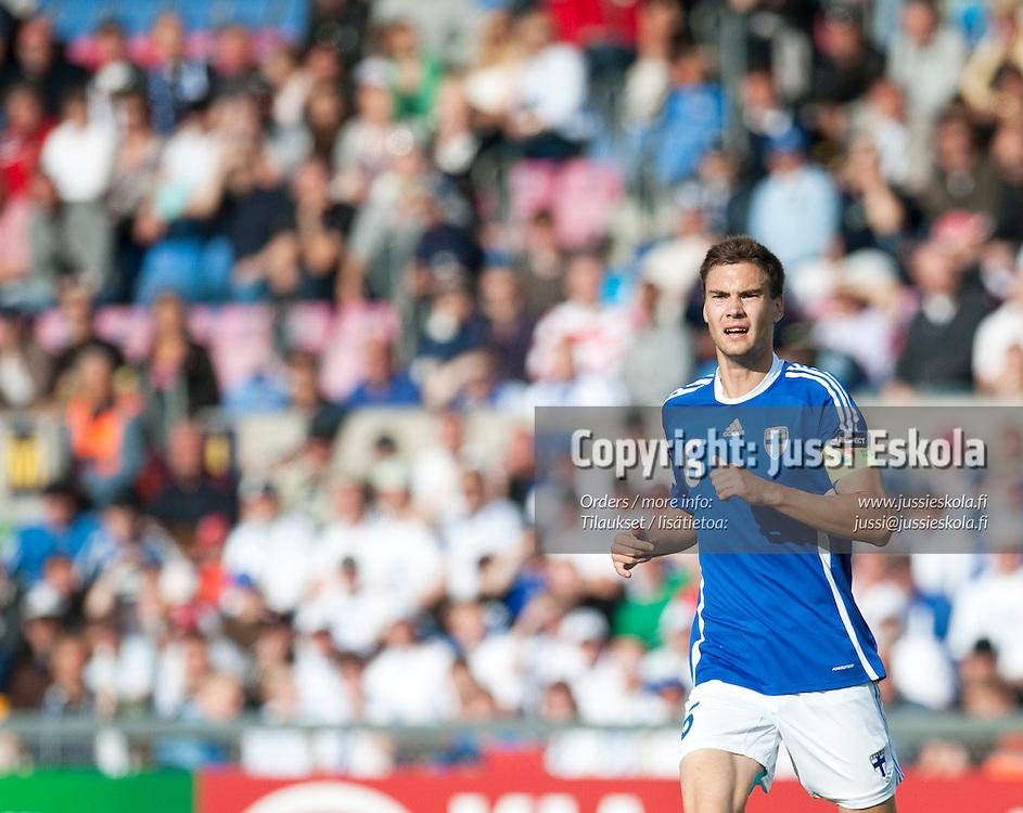 Tim Sparv. Saksa - Suomi. Alle 21-vuotiaiden EM-turnaus. Halmstad, Ruotsi 18.6.2009. Photo: Jussi Eskola