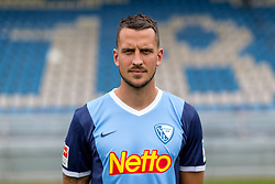 07.07.2015, Rewirpower Stadion, Bochum, GER, 2. FBL, VfL Bochum, Fototermin, im Bild Patrick Fabian (Bochum) // during the official Team and Portrait Photoshoot of German 2nd Bundesliga Club VfL Bochum at the Rewirpower Stadion in Bochum, Germany on 2015/07/07. EXPA Pictures &copy; 2015, PhotoCredit: EXPA/ Eibner-Pressefoto/ Hommes<br /> <br /> *****ATTENTION - OUT of GER*****
