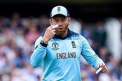 Jonny Bairstow of England - Mandatory by-line: Robbie Stephenson/JMP - 14/07/2019 - CRICKET - Lords - London, England - England v New Zealand - ICC Cricket World Cup 2019 - Final