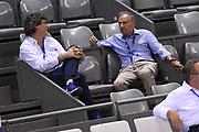 Massimo Valle, Giovanni Petrucci<br /> Nazionale Italiana Maschile Senior<br /> Torneo di Tolosa<br /> Belgio Italia Belgium Italy<br /> FIP 2017<br /> Tolosa, 19/08/2017<br /> Foto M.Ceretti / Ciamillo - Castoria