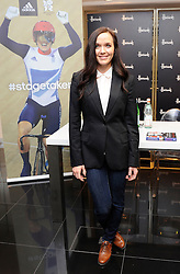PHOTO:STEVE FINN. 07968894444 .PIC SHOWS:Victoria Pendleton At A Booksigning For Between the Lines: My Autobiography.Harrods,Knightsbridge.London.Uk.26/09/12..A Spec' Picture Fee applies.Victoria Pendleton sign copies of her new book Between the Lines  at Harrods in London, Wednesday, 26th September 2012. Photo by: i-Images