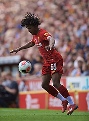 BRADFORD, ENGLAND - Saturday, July 13, 2019: Liverpool's Yasser Larouci during a pre-season friendly match between Bradford City AFC and Liverpool FC at Valley Parade. (Pic by David Rawcliffe/Propaganda)  BRADFORD, ENGLAND - Saturday, July 13, 2019: Liverpool's xxxx during a pre-season friendly match between Bradford City AFC and Liverpool FC at Valley Parade. (Pic by David Rawcliffe/Propaganda)