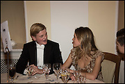 GEORGE PEARSON; ELEONORE DECAUX, Oxford University Polo club Ball, Blenheim Palace. Woodstock. 6 March 2015