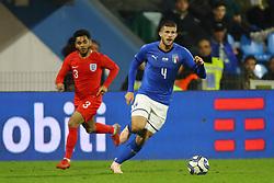 LUCA VALZANIA (ITALY)     <br /> Football friendly match Italy vs England u21<br /> Ferrara Italy November 15, 2018<br /> Photo by Filippo Rubin