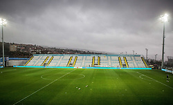Stadium ahead to the football match between HNK Rijeka and HNK Hajduk Split in Round #15 of 1st HNL League 2016/17, on November 5, 2016 in Rujevica stadium, Rijeka, Croatia. Photo by Vid Ponikvar / Sportida