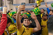 IMPRESSIONS MOSCOW 2018 - People - City - FANS,  <br /> Football World Cup starts in MOSCOW on June 14th 2018<br /> Honorarpflichtiges Foto, Fee liable image, Copyright © ATP Anthony STANLEY