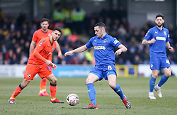 Anthony Hartigan of AFC Wimbledon on the ball - Mandatory by-line: Arron Gent/JMP - 16/02/2019 - FOOTBALL - Cherry Red Records Stadium - Kingston upon Thames, England - AFC Wimbledon v Millwall - Emirates FA Cup fifth round proper