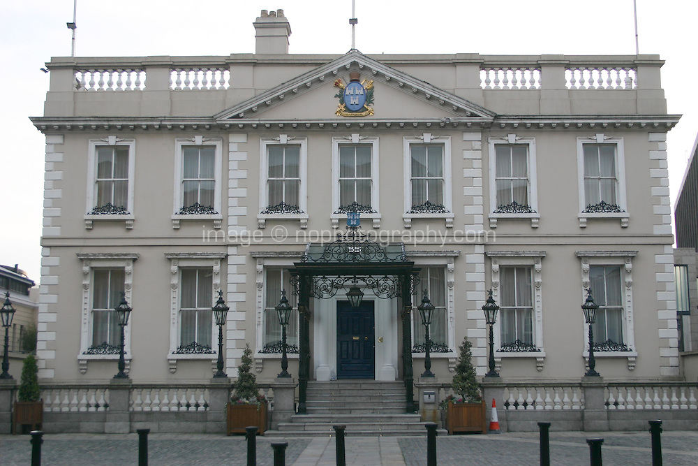 Mansion House, Dawson Street, Dublin, Ireland