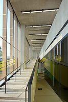 Bellevue Neighborhood Library architectural  interior photo of main stairway
