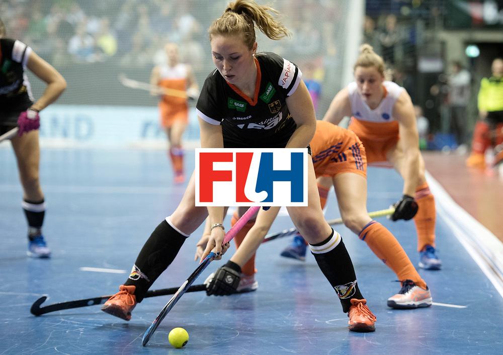 BERLIN - Indoor Hockey World Cup<br /> Final: Netherlands - Germany<br /> foto: Nike Lorenz <br /> WORLDSPORTPICS COPYRIGHT FRANK UIJLENBROEK