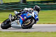 14 AUGUST 2009: AMA at Virginia international race way super bike qualifying, 7 Mat Maldin Rockstar/MakitaSuzuki GSX-R1000