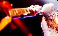NIJMEGEN - '3FM Serious Talent Tour' in muziekpodium Merelyn . Vanavond staan op het podium: Ed, Chagall en A Polaroid View. IN actie Chagall. ROBIN UTRECHT FOTOGRAFIE