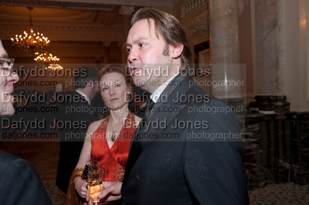Emily Mckay; Christian Mckay, The 30th London Critics' Circle Film Awards, held in aid of the NPSCC at the Landmark London Hotel. 18 February 2010.<br /> Emily Mckay; Christian Mckay, The 30th London CriticsÕ Circle Film Awards, held in aid of the NPSCC at the Landmark London Hotel. 18 February 2010.