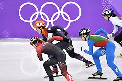 22-02-2018 SHORTTRACK: OLYMPISCHE SPELEN: OLYMPIC GAMES: PYEONGCHANG 2018<br /> Suzanne Schulting stunt met historisch goud op 1000 meter<br /> Suzanne rijdt soeverein op kop<br /> <br /> Foto: Soenar Chamid