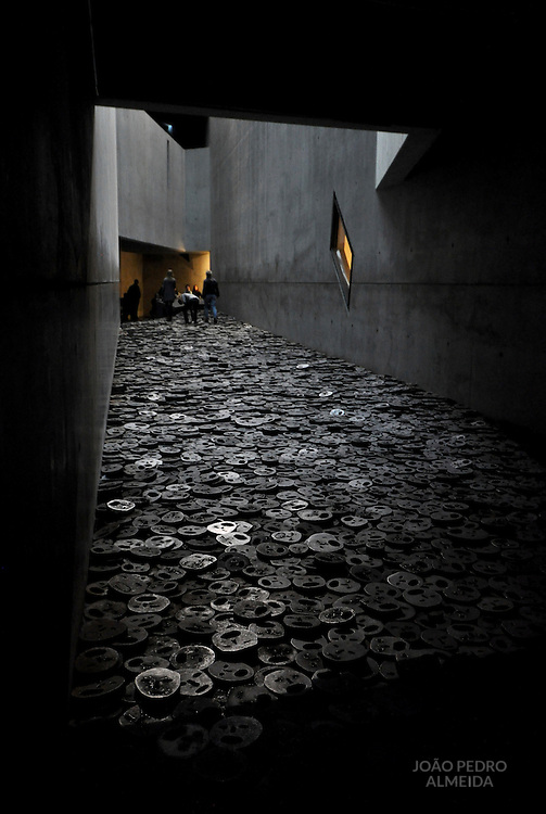 Fallen Leaves, one of the section of Jewish Museum Berlin