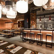 Wagamama Murray Hill NYC Interior Design