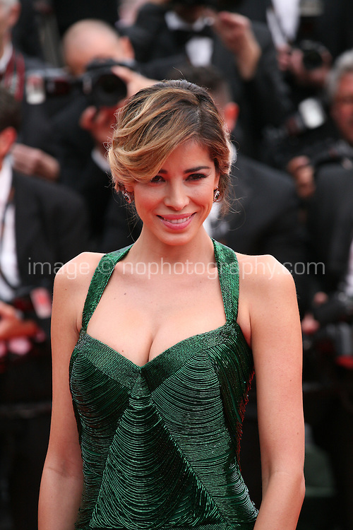 Aida Yespica at the the Grace of Monaco gala screening and opening ceremony red carpet at the 67th Cannes Film Festival France. Wednesday 14th May 2014 in Cannes Film Festival, France.