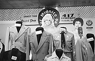 Cardboard figures and costumes of legendary country musicians in the Ernest Tubb Record Shop, Nashville, 2004