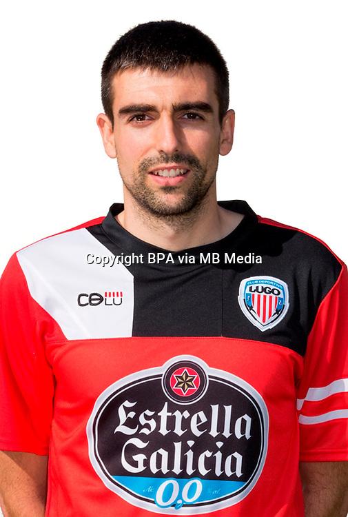 Spain - La Liga Adelante 2014-2015 / <br /> ( C.D. Lugo ) - <br /> Ernesto Gomez Gomez