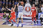 DESCRIZIONE : Beko Legabasket Serie A 2015- 2016 Dinamo Banco di Sardegna Sassari - Openjobmetis Varese<br /> GIOCATORE : Rok Stipcevic<br /> CATEGORIA : Tiro Tre Punti Three Point Controcampo Ritardo<br /> SQUADRA : Dinamo Banco di Sardegna Sassari<br /> EVENTO : Beko Legabasket Serie A 2015-2016<br /> GARA : Dinamo Banco di Sardegna Sassari - Openjobmetis Varese<br /> DATA : 07/02/2016<br /> SPORT : Pallacanestro <br /> AUTORE : Agenzia Ciamillo-Castoria/L.Canu