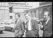 Fianna Fail Deputies Leave Leinster House.03/06/1970