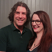 David Heck, left, and Robin Heck pose for a photo during the Green Party Sunday September 7, 2014 at City Stage Co. (Jason A. Frizzelle)