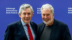 Pictured: Gordon Brown and John Sexton<br />