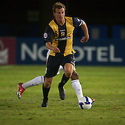 Alex Wilkinson in action during the AFC Champions League group H match between Central Coast Mariners (Australia) and Kawasaki Frontale (Japan) at Gosford Stadium, Australia on April 08, 2009. Kawasaki won the game 5-0.  Photo Tim Clayton