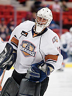 February 25, 2011: The Oklahoma City Barons play the San Antonio Rampage in an American Hockey League game at the Cox Convention Center in Oklahoma City.