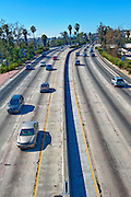 California, U.S. Route 101 (US 101) Downtown Los Angeles, CA