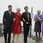 9/23/11 -- FREEPORT, Maine.  Wedding of Steve Morrow and Rommy Brown, Harraseeket Yacht Club.    Photo © 2011 by Roger S. Duncan.
