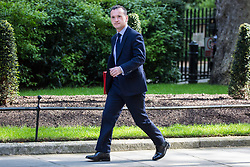 London, UK. 7 May, 2019. Alun Cairns MP, Secretary of State for Wales, arrives at 10 Downing Street for a Cabinet meeting.