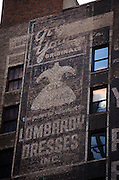 May 5, 2014 - New York, NY. Lombardy Dresses Inc., on 37th Street west of Broadway. 05/05/2014 Photograph by Kevin R. Convey/NYCity Photo Wire.