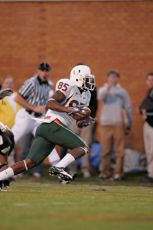 2005 Miami Hurricanes Football @ Wake Forest