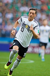 MOSCOW, RUSSIA - Sunday, June 17, 2018: Germany's Mesut Oezil during the FIFA World Cup Russia 2018 Group F match between Germany and Mexico at the Luzhniki Stadium. (Pic by David Rawcliffe/Propaganda)