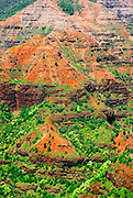 Waimea Canyon from Waimea Canyon Lookout, Island of Kauai, Hawaii