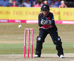 July 1, 2018 - London, Greater London, United Kingdom - Katey Martin of New Zealand Women  .during International Twenty20 Final match between England Women and New Zealand Women  at The Cloudfm County Ground, Chelmsford, England on 01 July 2018. (Credit Image: © Kieran Galvin/NurPhoto via ZUMA Press)