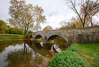 Burnside Bridge Antietam National Battlefield, Sharpsburg, Maryland, USA.