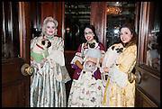 DAVINA FOX-HILL; ANNA FOY; ARTI BAKRANIA; PUGS: BERTIE; GIZMAN; EDITH;  , Florence Heoluwa 'Cuppy' Otedola Marie Antoinette Graduation party. Mandarin Oriental, Knightsbridge25th of July 2014.