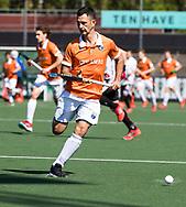 AMSTELVEEN  - Hockey -  1e wedstrijd halve finale Play Offs dames.  Amsterdam-Bloemendaal (5-5), Bl'daal wint na shoot outs. Jamie Dwyer (Bldaal)     COPYRIGHT KOEN SUYK
