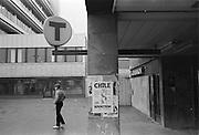 Liljeholmens tunnelbanestation.