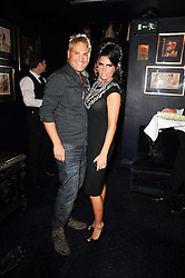 KATIE PRICE and GARY COTTERILL at the Tatler Little Black Book Party held at Tramp, 40 Jermyn Street, London on 3rd November 2010.