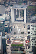 La Grande Arche de la Defense, Paris, France.