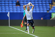 Dean Moxey (Bolton Wanderers) takes a throw in during the Pre-Season Friendly match between Bolton Wanderers and Preston North End at the Macron Stadium, Bolton, England on 30 July 2016. Photo by Mark P Doherty.