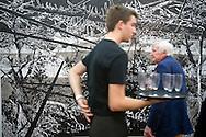 UK. London. The Frieze Art Fair in Reagent's Park..Photo by Steve Forrest