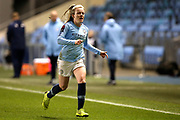 Manchester City forward Lauren Hemp (15) during the FA Women's Super League match between Manchester City Women and Everton Women at the Sport City Academy Stadium, Manchester, United Kingdom on 20 February 2019.