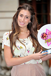© under license to London News Pictures. 29/03/11. Stacey Soloman is awarded Foxy Bingo's Mum of the Year at Chancery Court Hotel, High Holborn, London. Photo credit should read Alan Roxborough/LNP