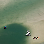 Wrightsville Beach, North Carolina: Aerial shoots of boats in and around the waterways of Wrightsville Beach NC