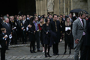 Detmar Blow, Funeral for Isabella Blow. Gloucester Cathedral. 15 May 2007.  -DO NOT ARCHIVE-© Copyright Photograph by Dafydd Jones. 248 Clapham Rd. London SW9 0PZ. Tel 0207 820 0771. www.dafjones.com.