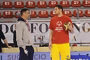 DESCRIZIONE : Ancona Lega A 2012-13 Sutor Montegranaro Angelico Biella<br /> GIOCATORE : Valerio Amoroso Matteo Soragna<br /> CATEGORIA : ritratto curiosita<br /> SQUADRA : Angelico Biella Sutor Montegranaro<br /> EVENTO : Campionato Lega A 2012-2013 <br /> GARA : Sutor Montegranaro Angelico Biella<br /> DATA : 02/12/2012<br /> SPORT : Pallacanestro <br /> AUTORE : Agenzia Ciamillo-Castoria/C.De Massis<br /> Galleria : Lega Basket A 2012-2013  <br /> Fotonotizia : Ancona Lega A 2012-13 Sutor Montegranaro Angelico Biella<br /> Predefinita :